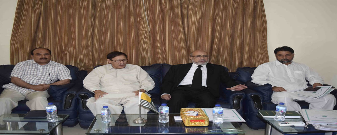 Chief Election Commissioner Chairs Departmental Meeting.